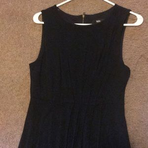 Black cotton dress xs